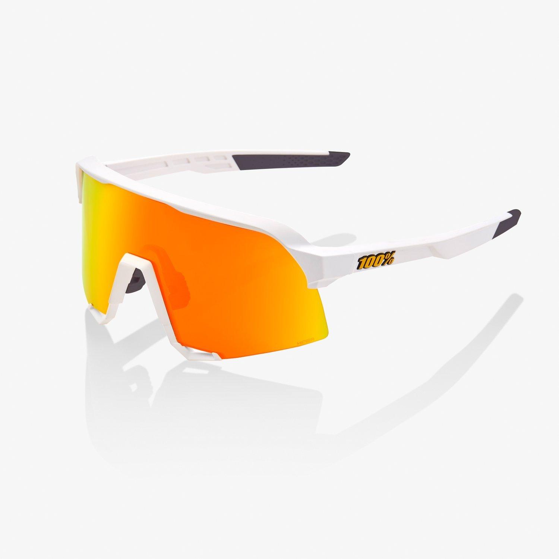 100% S3 sportszemüveg - fehér
