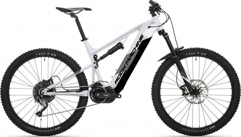 """Rock Machine Blizzard INT eLTD férfi 27.5"""" MTB pedelec kerékpár - ezüst - 21 (2020)"""
