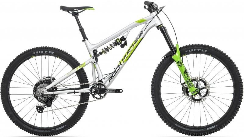 """Rock Machine Blizzard 90-27 RZ férfi 27.5"""" enduro kerékpár - ezüst - 21 (2020)"""