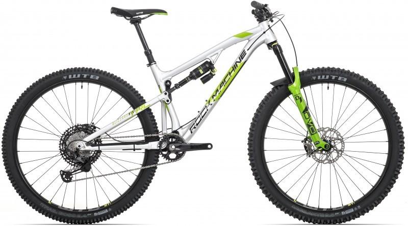 """Rock Machine Blizzard TRL 90-29 AM férfi 29"""" trail kerékpár - ezüst - 19 (2020)"""