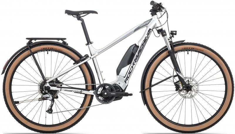 """Rock Machine Torrent e70-29 Touring férfi 29"""" MTB pedelec kerékpár - ezüst - 17 (2020)"""