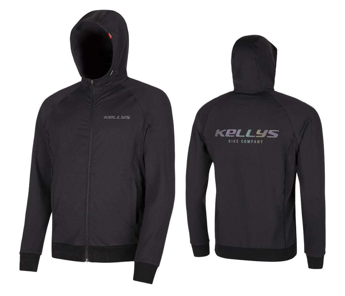 Kellys Chromatic férfi dzseki - fekete - L