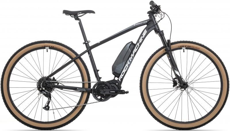 """Rock Machine Manhattan e30-29 férfi 29"""" MTB pedelec kerékpár - fekete - 19 (2020)"""