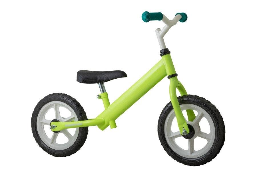 Koliken Bambino Easy futóbringa névre szóló matricával - zöld