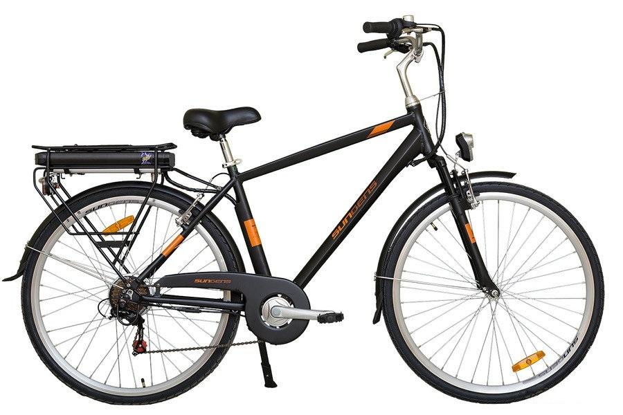 Koliken PEDELEC CITY 6000 férfi városi pedelec kerékpár - fekete