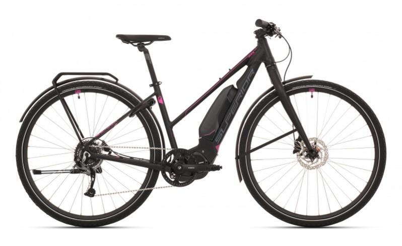 Superior eRX 630 Touring női pedelec cross kerékpár - fekete - 18 (2020)