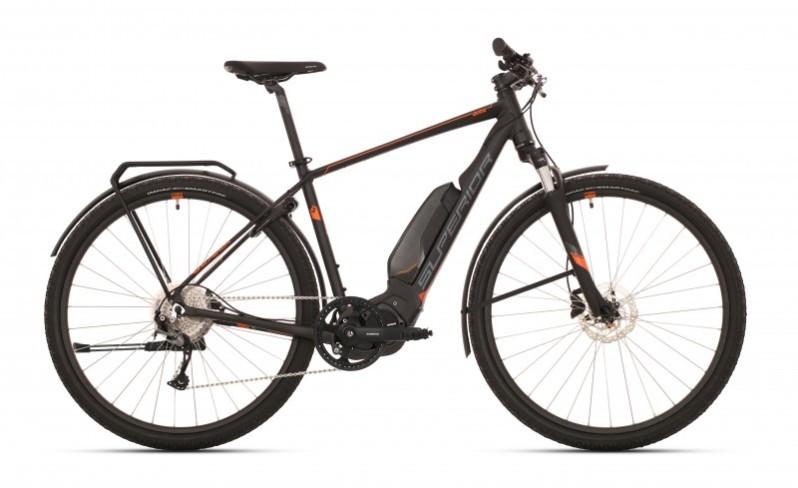 Superior eRX 670 Touring férfi pedelec cross kerékpár - fekete - 21.5 (2020)