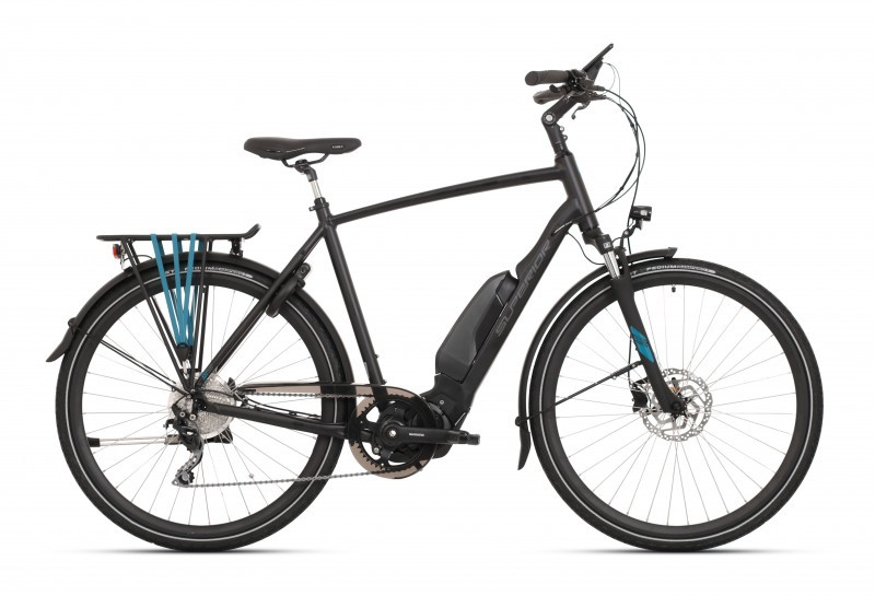 Superior SST 500 férfi pedelec trekking kerékpár - fekete - 53 cm (2020)