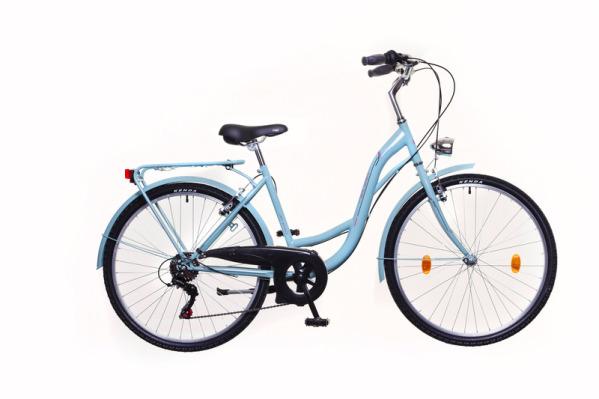 """Neuzer Venezia 6 női városi kerékpár - celeste/piros - 17"""""""