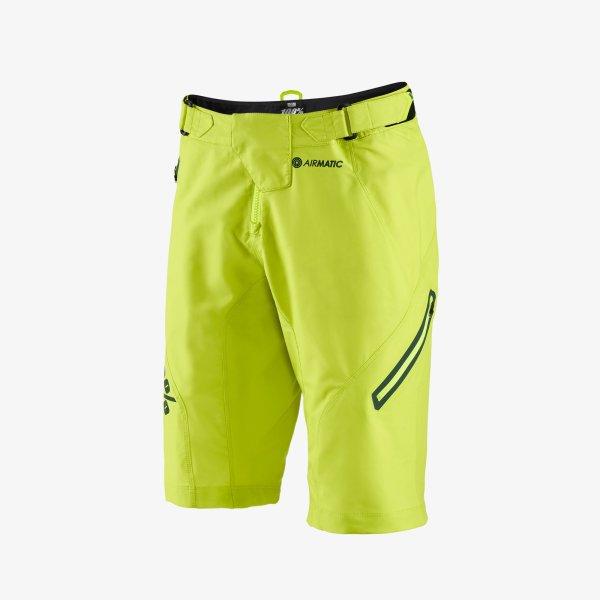 100% AIRMATIC férfi rövidnadrág - lime - 32