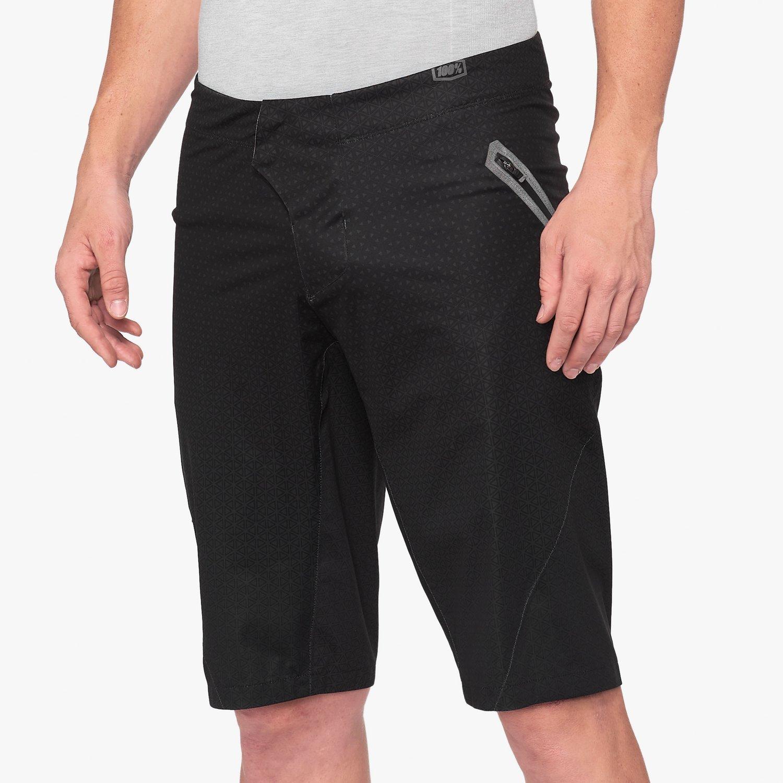 100% HYDROMATIC férfi rövidnadrág - fekete - 32