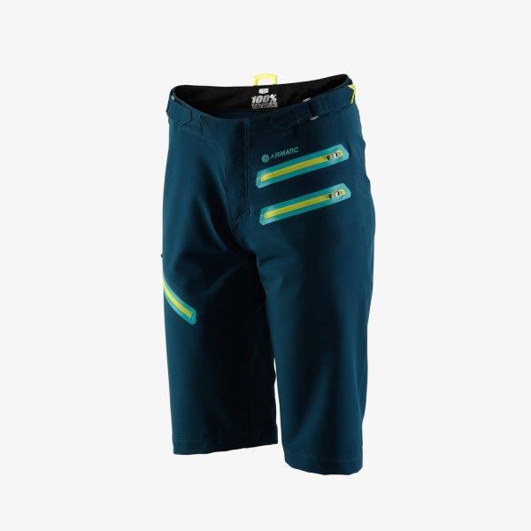 100% AIRMATIC női rövidnadrág - erdőzöld - XL
