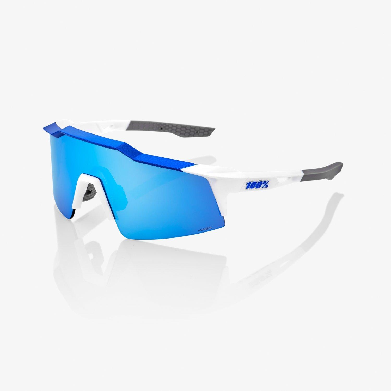 100% SPEEDCRAFT sportszemüveg - fehér/kék