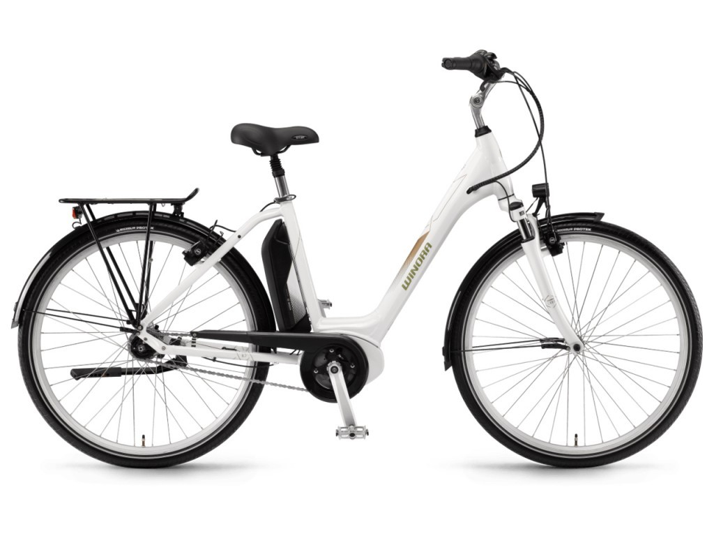 "Winora Sima N7f monotube 28"" pedelec városi kerékpár - fehér - 54 cm (2018)"