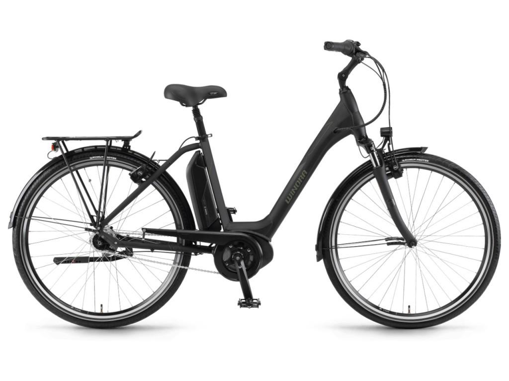 "Winora Sima N7 Plus monotube 28"" pedelec városi kerékpár - fekete - 54 cm (2018)"