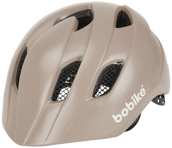 Bobike Exclusive Plus In Mold gyermek sisak - szafari szürke/fahéj barna - S