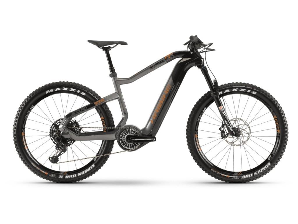 """Haibike XDURO AllTrail 6.0 férfi 27.5"""" trail pedelec kerékpár - carbon - S (2019)"""