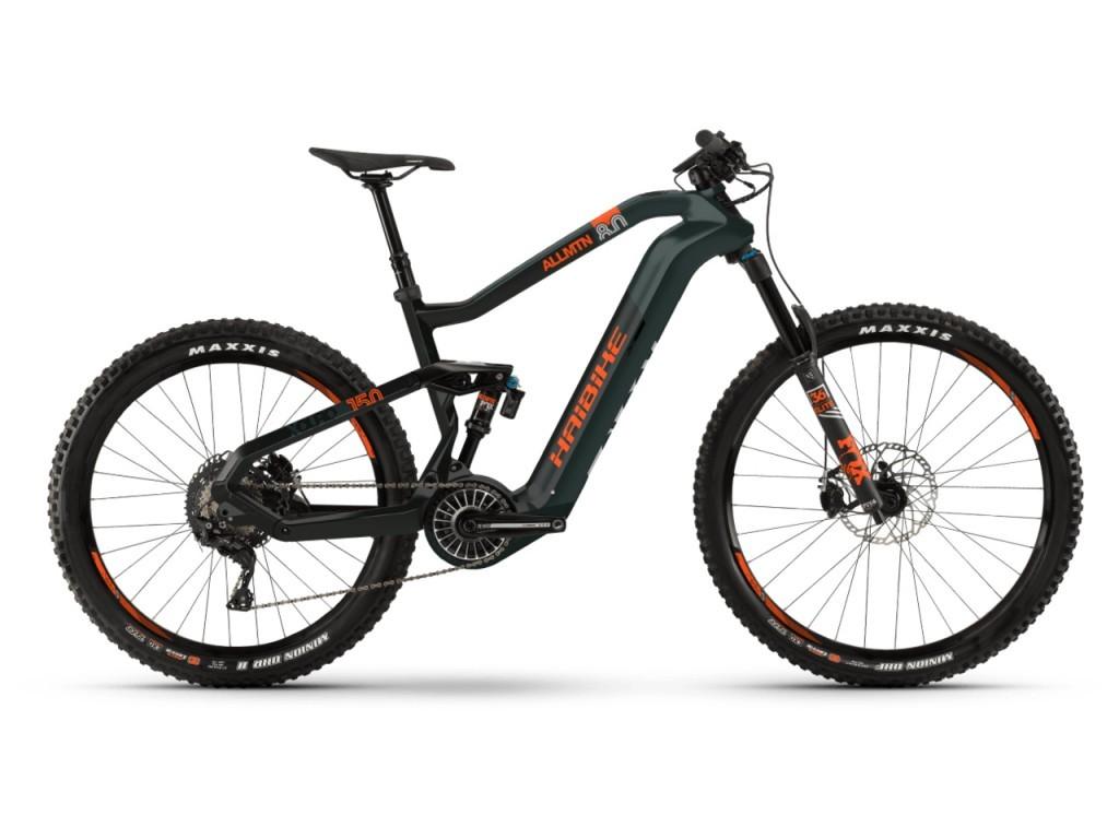 """Haibike XDURO AllMtn 8.0 férfi 27.5"""" összteleszkópos MTB pedelec kerékpár - oliva - M (2019)"""