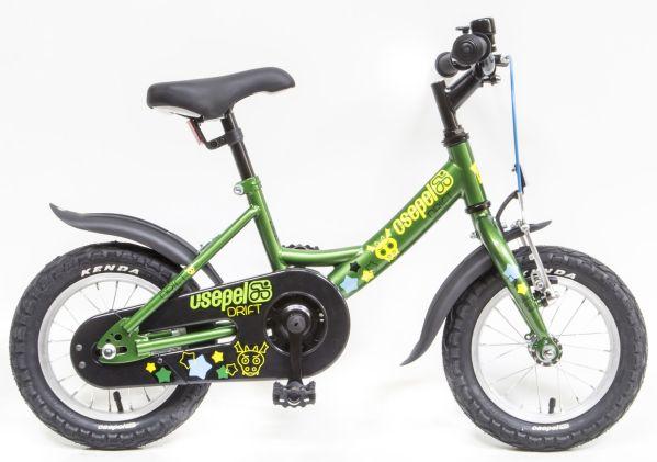Csepel Drift 12 gyermek kerékpár - zöld (2020)