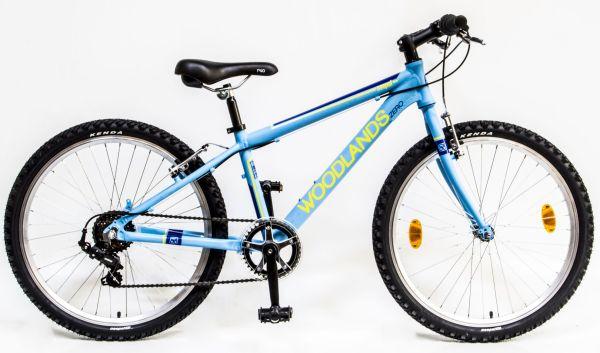 Csepel Woodlands Zero 6SP 24 gyermek kerékpár - matt kék
