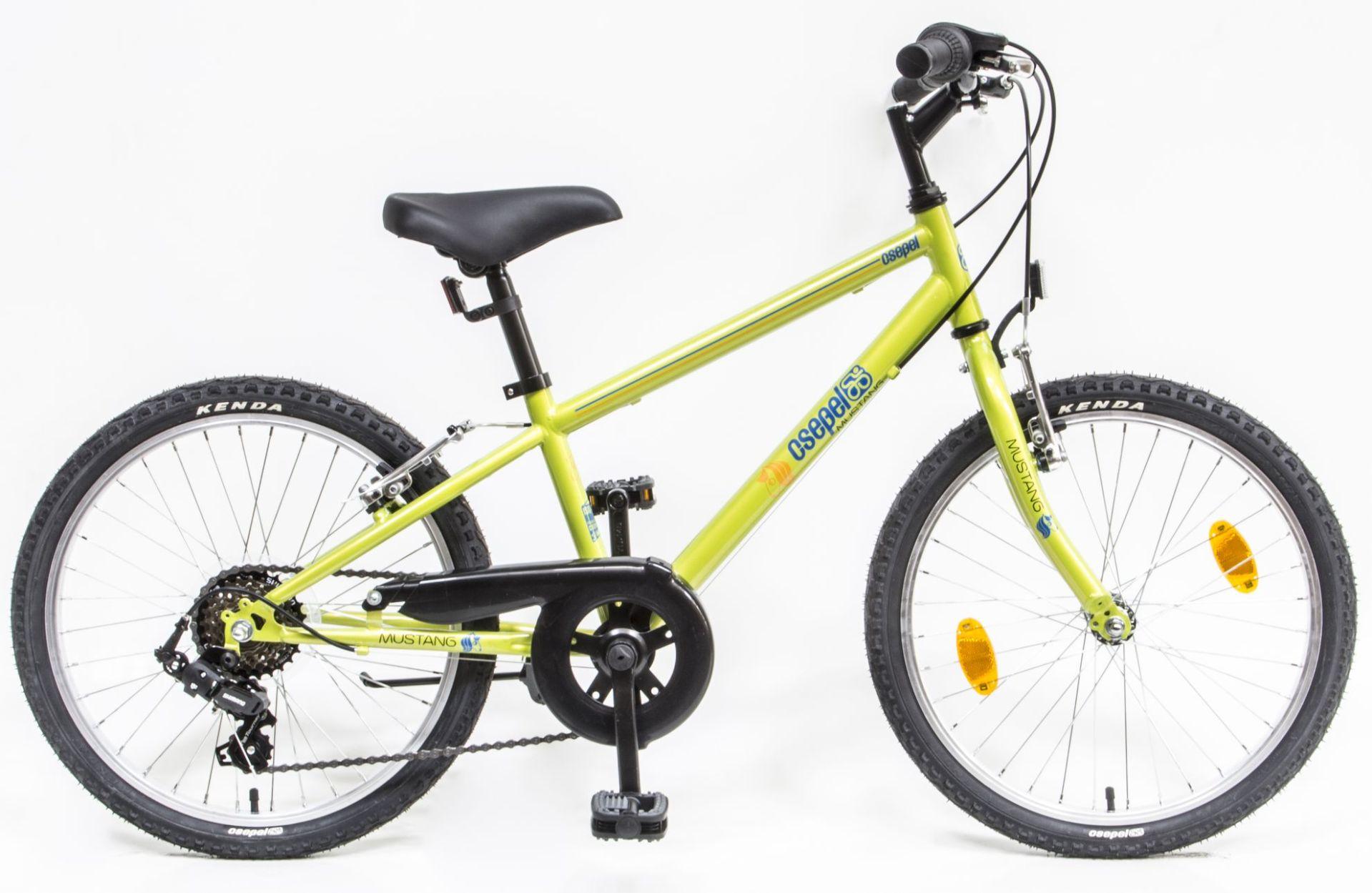Csepel Mustang 20 6sp gyermek kerékpár - zöld (2020)