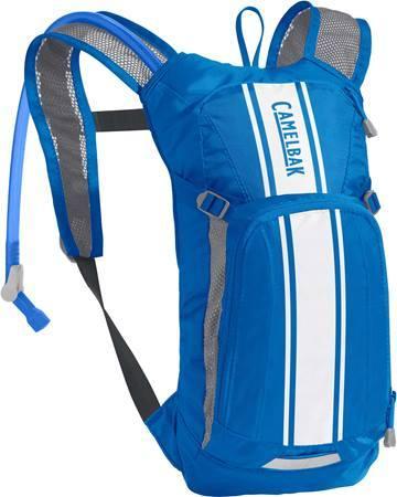 Camelbak MINI M.U.L.E. 50 gyerek hátizsák - kék/fehér