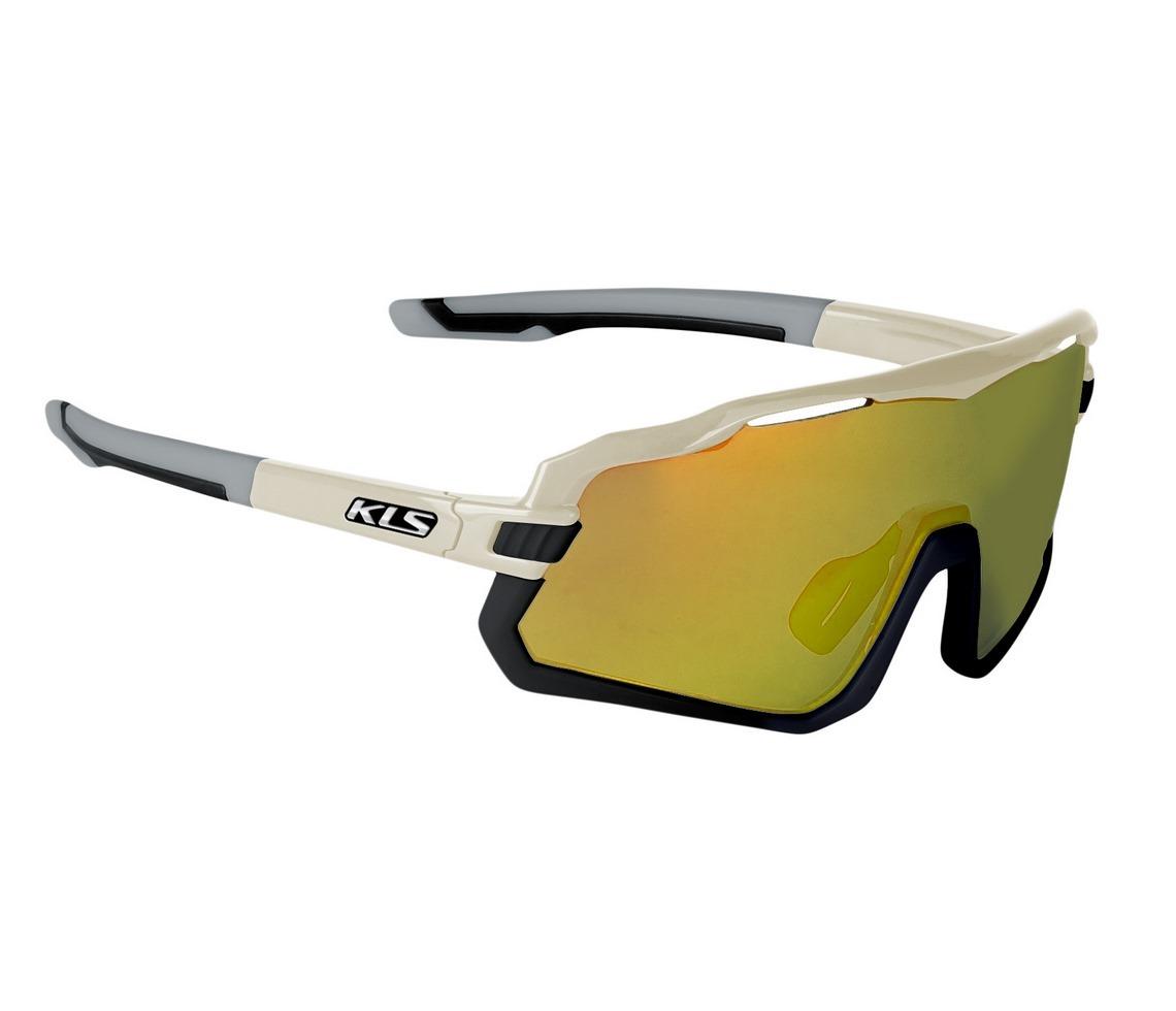 Kellys Cyclone HF sportszemüveg - homok szürke