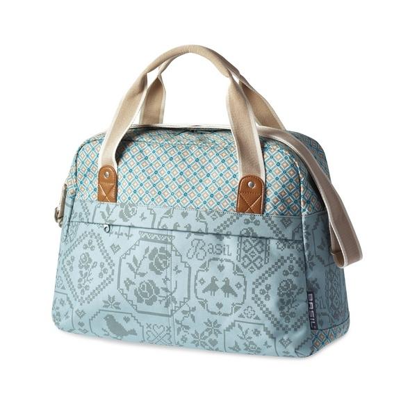 Basil Boheme Carry All Hook ON táska csomagtartóra - jade zöld
