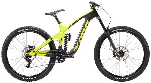 """KONA Operator CR férfi 29"""" downhill kerékpár - sárga/szénszürke - M (2019)"""
