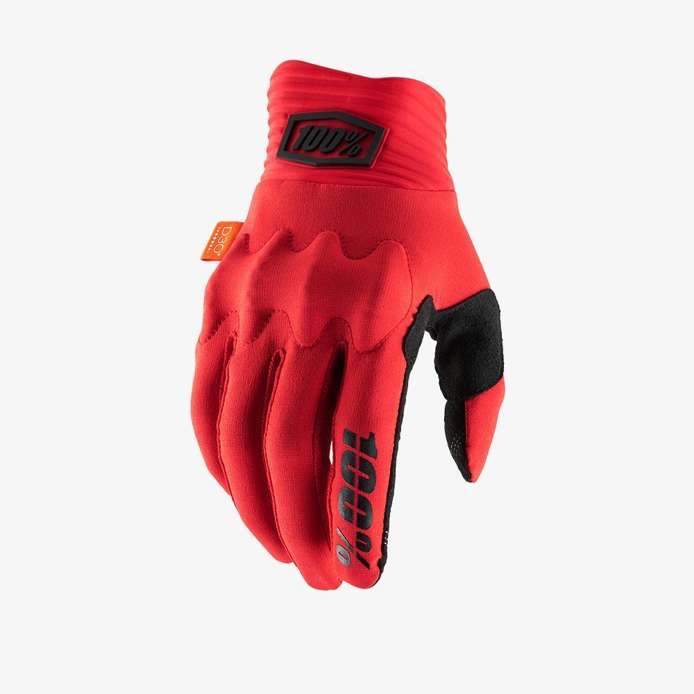 100% COGNITO kesztyű - piros - XL