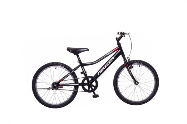 Neuzer Bobby 20 1S gyermek kerékpár - fekete/szürke-piros