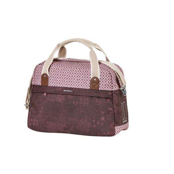 Basil Boheme Carry All Hook ON táska csomagtartóra - piros