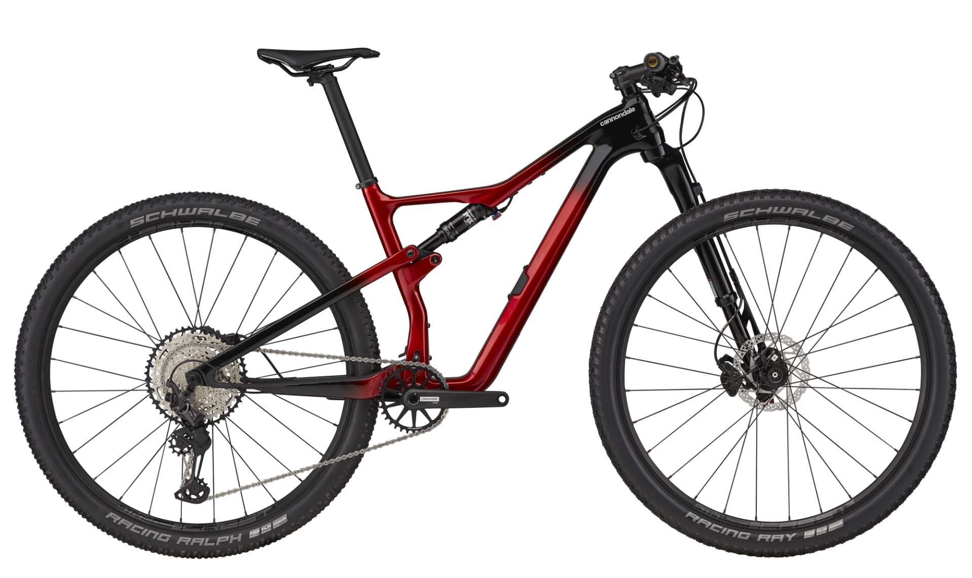 """Cannondale Scalpel Carbon 3 férfi 29"""" Trail kerékpár - bordó - L (2021)"""