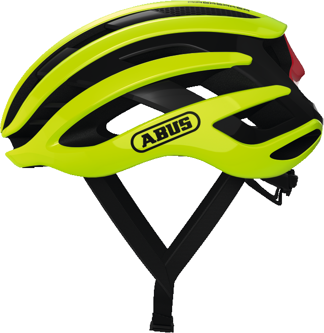 ABUS AirBreaker sisak - neon sárga - M